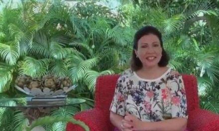 Margarita felicita a Leonel por acto en el Estadio Olímpico