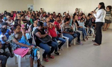Niños desnutridos de San Cristóbal reciben apoyo de manos solidarias
