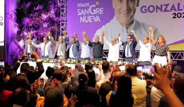 Exprecandidatos apoyan a Gonzalo Castilo