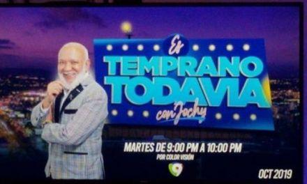 """Jochy Santos viene con """"Es Temprano Todavía"""""""