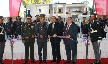 Policía Nacional inaugura nuevo polideportivo para Escuela de Cadetes
