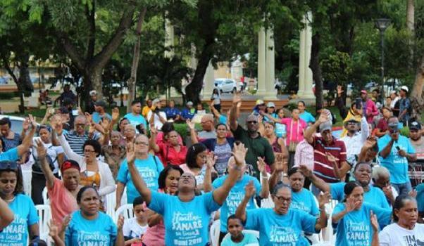 Realizan histórico Día de Humillación en Baní