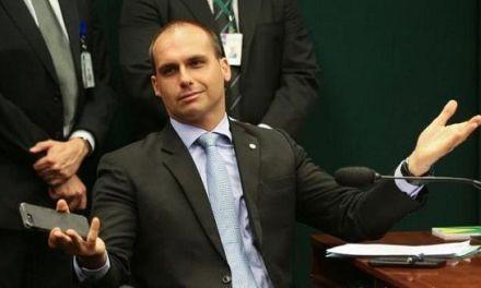 El hijo de Bolsonaro se disculpa