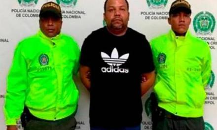 Autoridades colombiana capturan en  Cartagena a César Peralta «el Abusador»