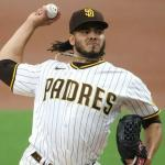 Dinelson Lamet poncha 11 y los Padres se acercan a los Dodgers