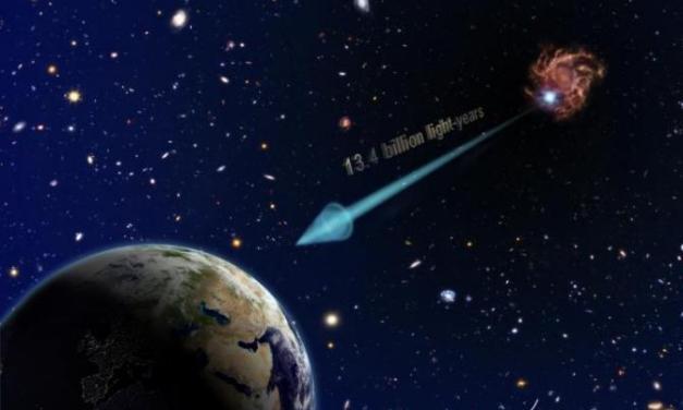 La galaxia más distante ayuda a dilucidar el universo temprano