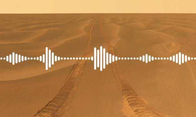 Gran alteración de los sonidos en Marte