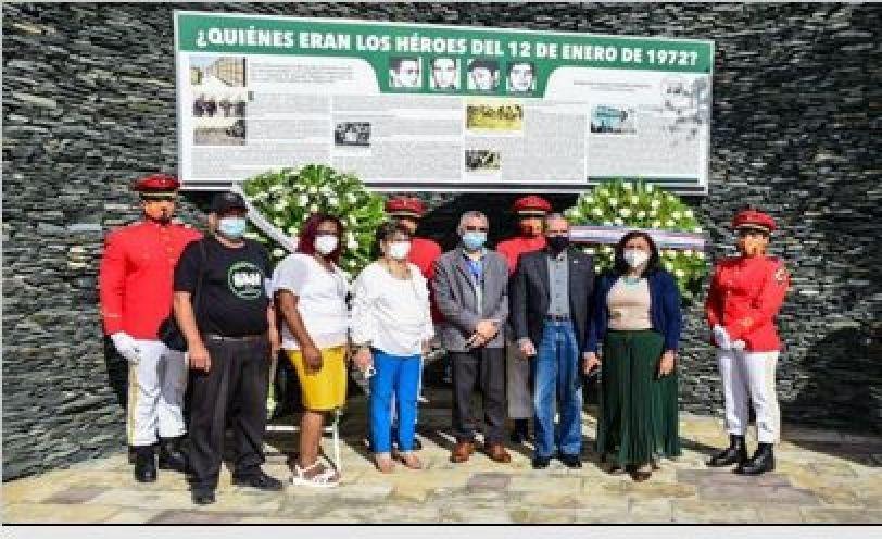 Ayuntamiento SDE y Fundación Amaury Germán Aristy conmemoran 49 aniversario caída Palmeros
