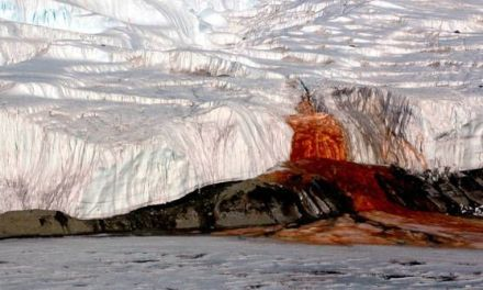 Las Cataratas de Sangre, el fenómeno de la Antártida sin explicación durante un siglo