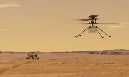 El helicóptero robótico Ingenuity informa de su estado desde Marte