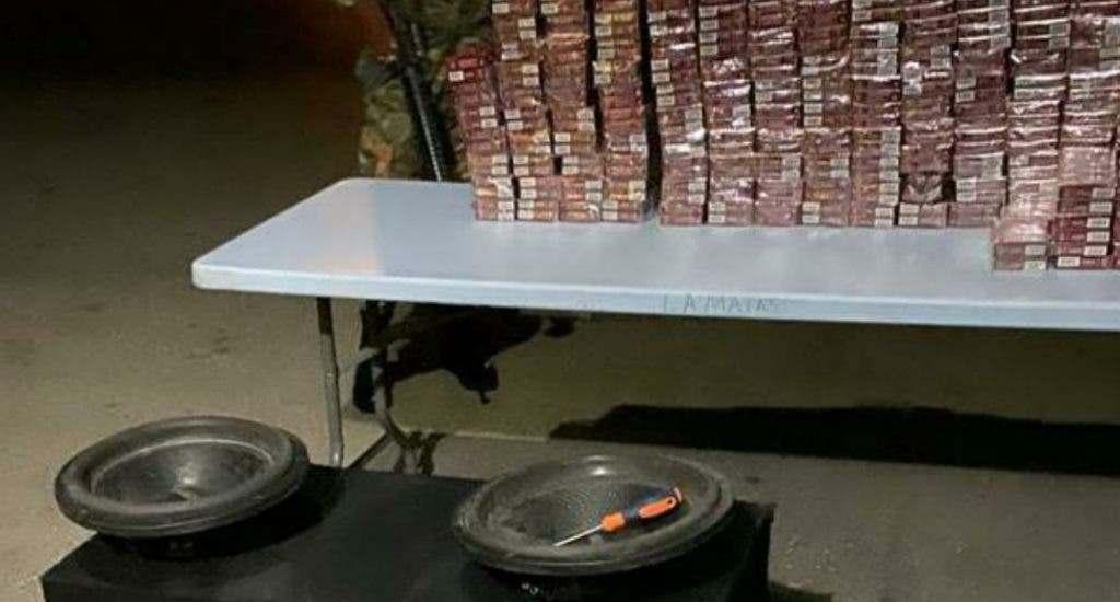 Apresan regidor del PLD contrabandeando cigarrillos; le conocerán medida de coerción