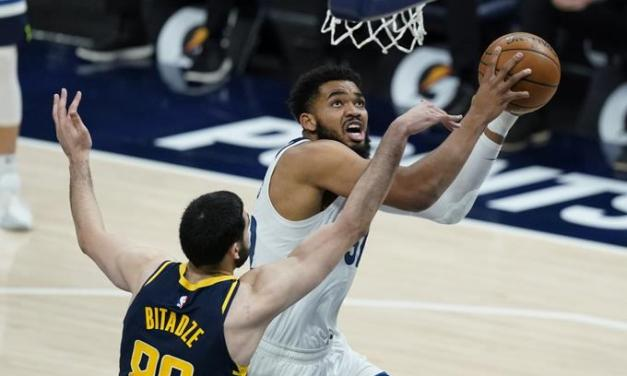 Karl-Anthony Towns anota 32 y consigue 12 rebotes, pero Minnesota pierde