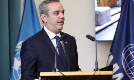 Presidente Abinader pide el respaldo internacional para solucionar la situación de Haití