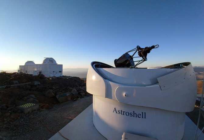 Nuevo telescopio para buscar asteroides peligrosos