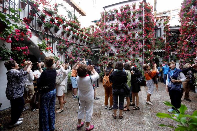 La fiesta de los Patios en Córdoba, una tradición centenaria