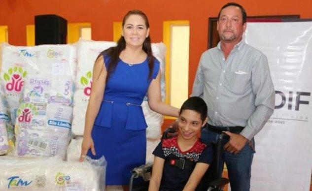 El DIF Matamoros apoya a personas con discapacidad - El Gráfico de ... c9c178f17426e