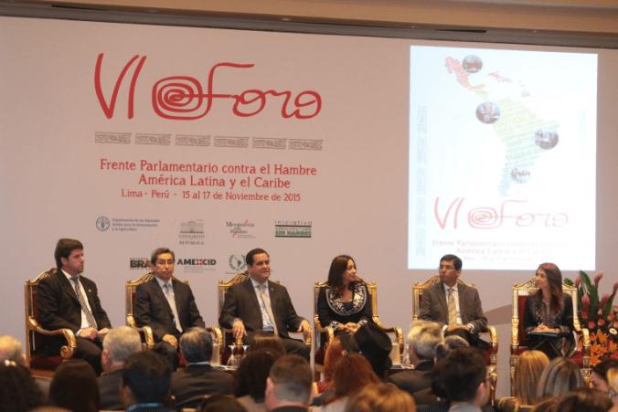 Parlamentarios de 17 países de América Latina asumieron el compromiso...
