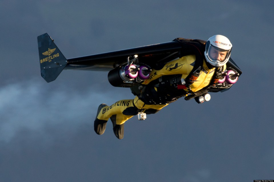 Jet Pack -Iron Man- actually Flies in Real Life