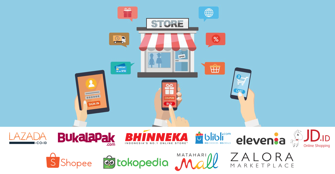Top 5 Online Shops In Indonesia During 2019 Ecco Technology