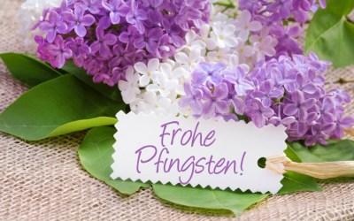 Frohe Pfingsten!