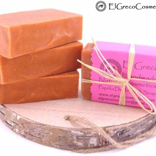Paprika Donkey milk Soap