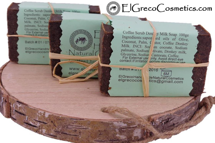 Why organic Coffee scrub donkey milk soap reduces Cellulite_01