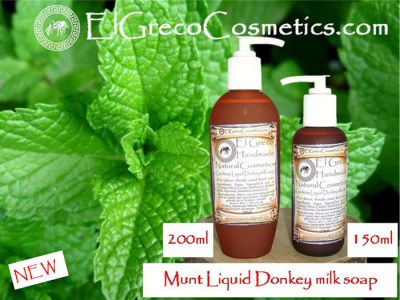 Munt Liquid Donkey milk Soap 150ml