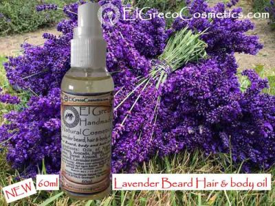 Lavender Beard hair & body Oil 60ml