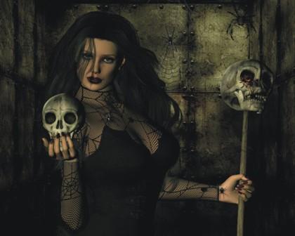 bruja negra