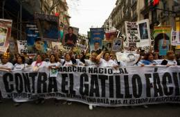 tercera marcha nacional contra el gatillo facil