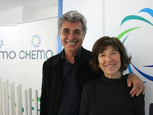 Hugo Sigman y Silvia Gold