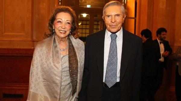 Alberto Roemmers y Hebe Colman