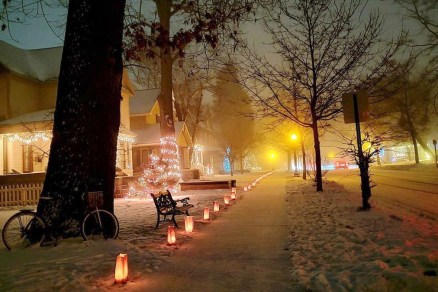2020 Holiday Lights in Traverse City Michigan