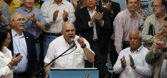 """Chuo Torrealba: """"Cero negociación, Cero puesticos, que se cumpla la constitución"""""""