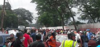 Pueblo enardecido lincha a militar en Ocumare de la Costa