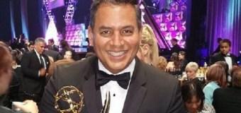 ¡ORGULLO NACIONAL! Daniel Sarcos se ganó un Premio Emmy y se lo dedicó a Venezuela