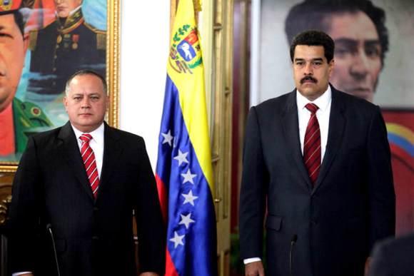 Nicolas-Maduro-an-diosdado-cabello