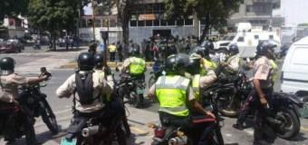 GNB dispersó concentración opositora en Santa Mónica con lacrimógenas #20A