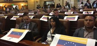 Senado colombiano aprueba resolución sobre ruptura del orden constitucional en Venezuela