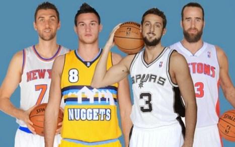 Italianos NBA