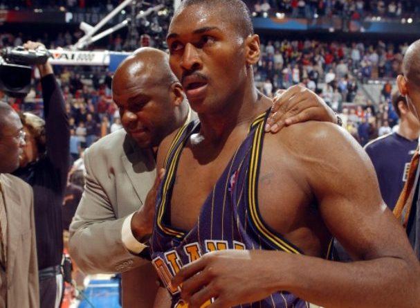pelea de la verguenza en la NBA