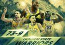 Ranking de los equipos con mejor record de temporada regular de la historia NBA