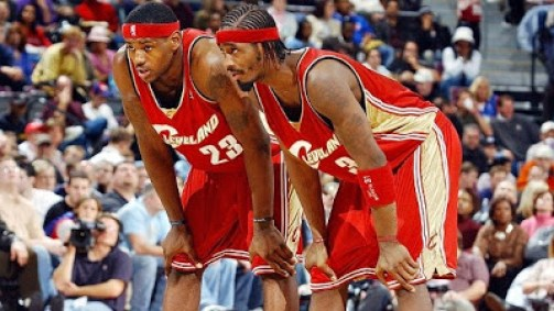 Ricky Davis, Lebron James