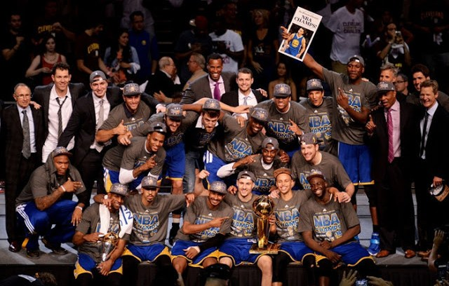 WARRIORS CAMPEONES