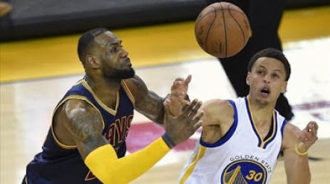 Lebron y Curry