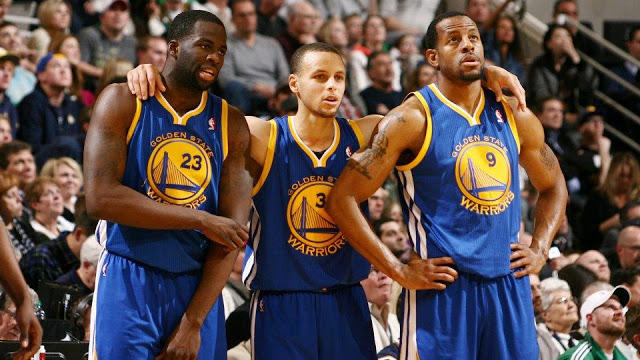 Green iguodala y curry