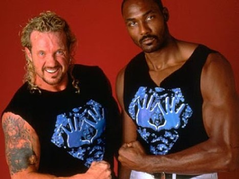 KARL MALONE y DIAMOND DALLAS