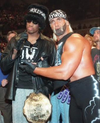 Hollywood Hogan y Rodman