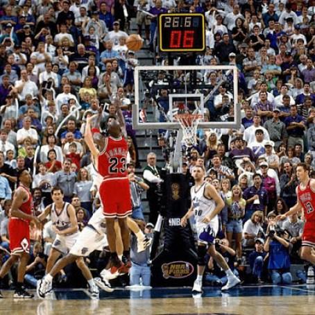 Michael Jordan The Shot