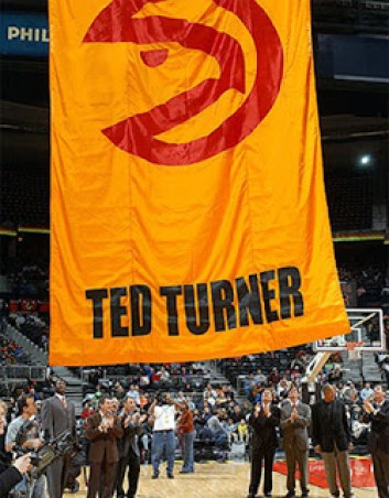 Ted Turner Atlanta Banner